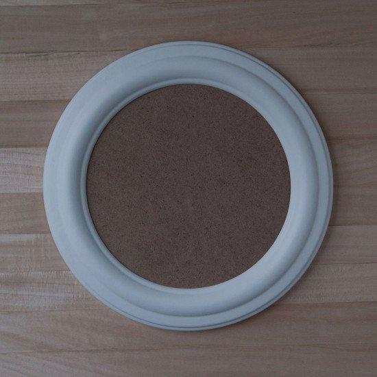 Круглая рамка КР 40–10 Диаметр по окну – 10 см Наружный диаметр – 18 см