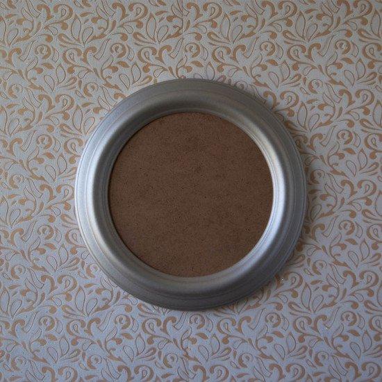 Круглая рамка КР 40–19 Диаметр по окну – 19 см Наружный диаметр – 27 см