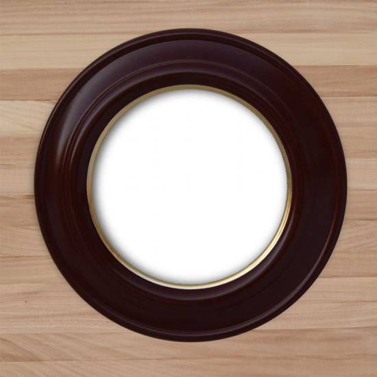 Круглая рамка КР 60–25 Диаметр по окну – 25 см Наружный диаметр – 37 см