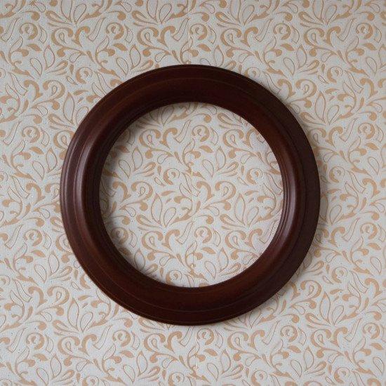 Круглая рамка КР 40–25 Диаметр по окну – 25 см Наружный диаметр – 33 см
