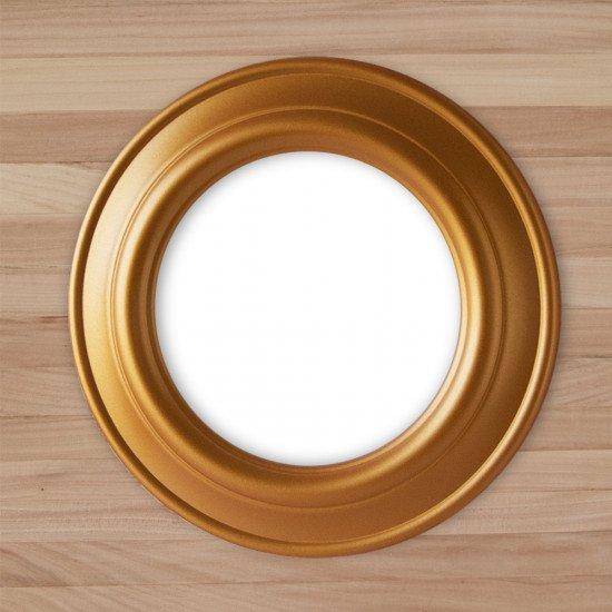 Круглая рамка КР 60–16 Диаметр по окну – 16 см Наружный диаметр – 28 см