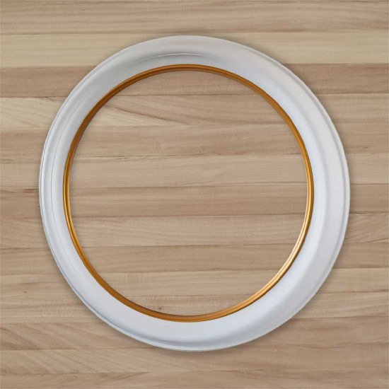 Круглая рамка КР 100–60 Диаметр по окну – 60 см Наружный диаметр – 80 см