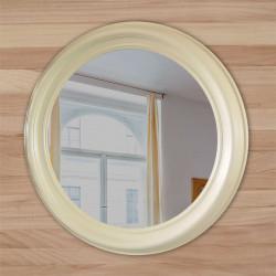 круглое зеркало в деревянной рамеоправе купить в украине