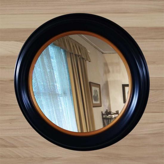 Зеркало КЗ 80–5 черное 54 x 54