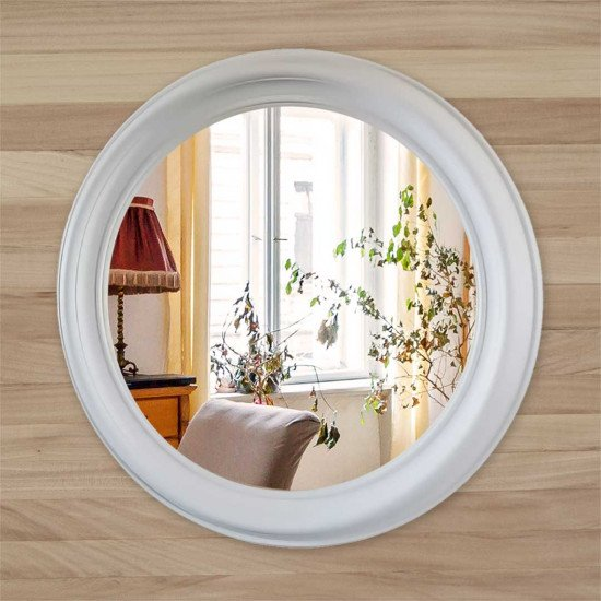 Зеркало КЗ 80–1 белое 76 x 76