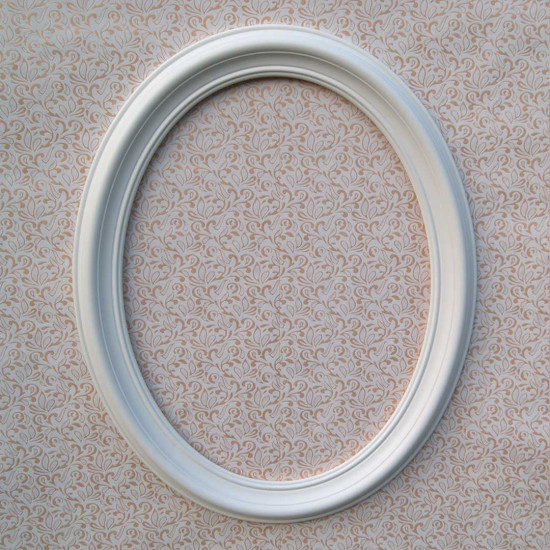 Овальная рамка ОР 100–50 Размер по окну – 50x67 см Наружный размер – 70х87 см