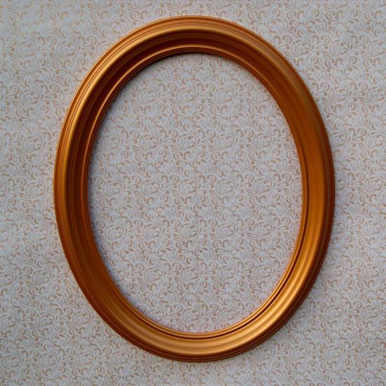Овальная рамка ОР 80–50 Размер по окну – 50x67 см Наружный размер – 66х83 см