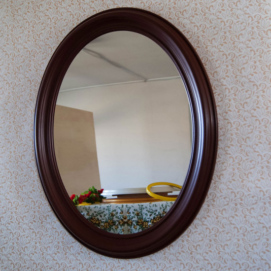 Зеркало ОЗ 80–4 венге 66 x 83